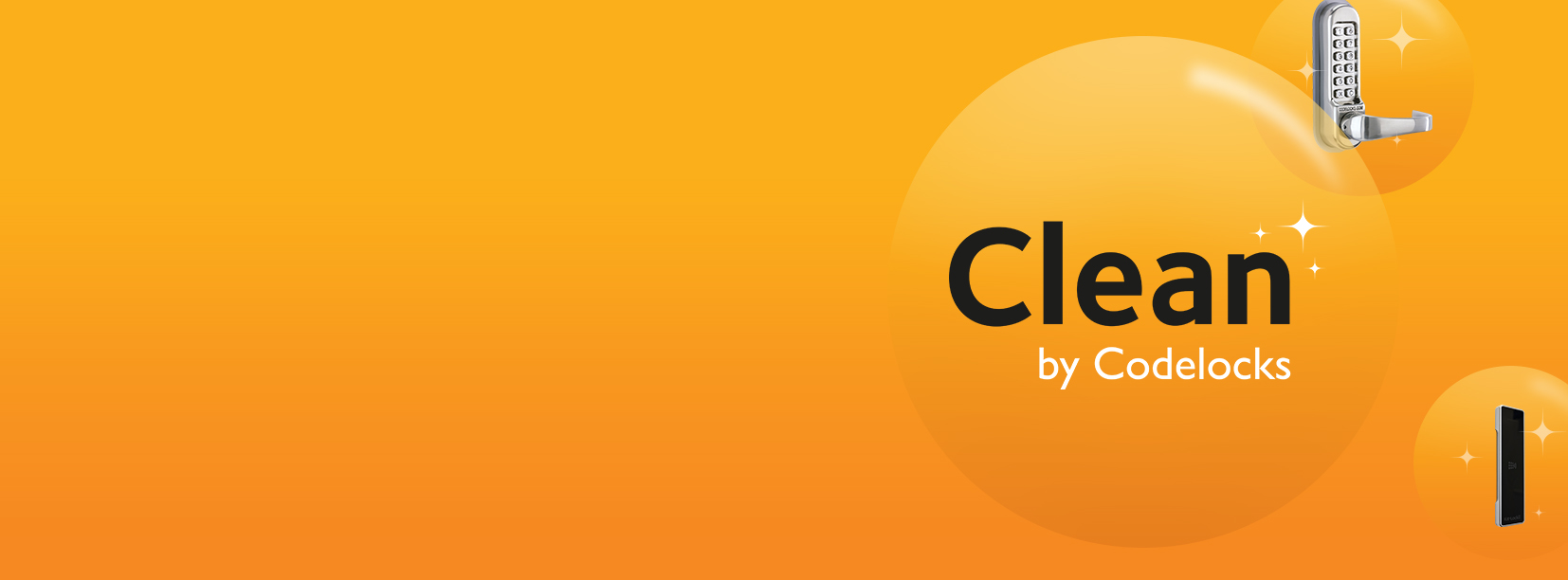 Clean by Codelocks Launch Banner 1120